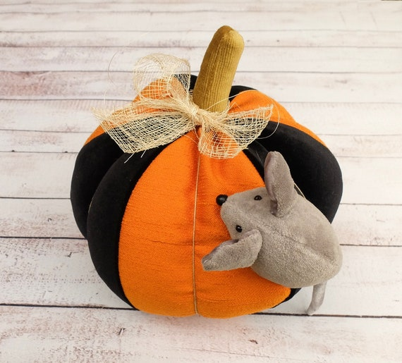 Corduroy Pouf Thanksgiving Decor Halloween Pumpkin Halloween Decoration Huge Orange Pumpkin Pumpkin Seat Pumpkin Pillow