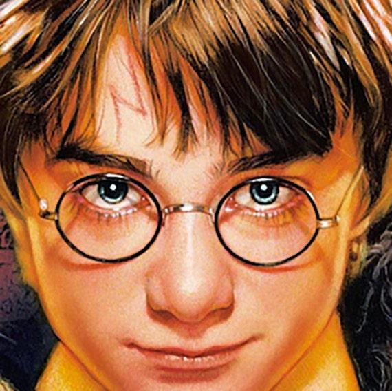 Harry Potter Stirn Lightning Bolt Narbe Handbemalt Gotischen Etsy