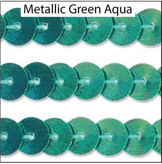 Cup Sequin 6 mm  Trim All Colours /& Lengths 3 /& 5 metres