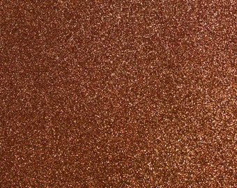 FINE glitter fabric sheet. Brown A4 sheet. JR09151