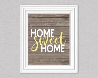 8x10 Home Sweet Home Digital download