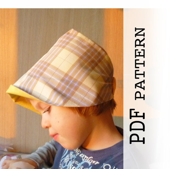 Kids Summer Hat Sewing Pattern Pdf Sewing Pattern And Etsy