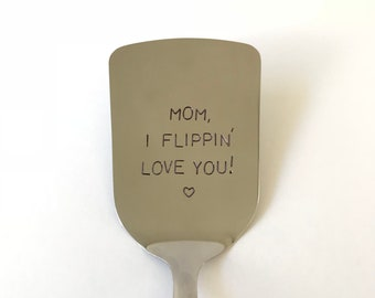 Mothers Day Gift Custom Spatula Best Selling Item Mom Birthday Boyfriend Personalized