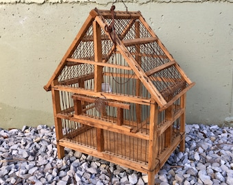 primitive home decor and more cheap home decor.htm vintage wood and wire bird cage rustic primitive home decor etsy  vintage wood and wire bird cage rustic