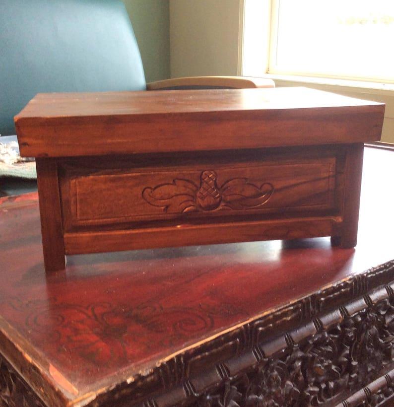 Small Folding Tibetan Table Antique Teak Wood 14x9x8 In Etsy