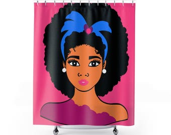 Popular Items For Afro Shower Curtain