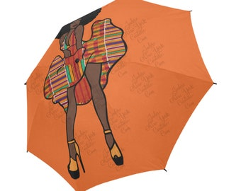 picture relating to Umbrella Pattern Printable Free named Umbrella print gown Etsy