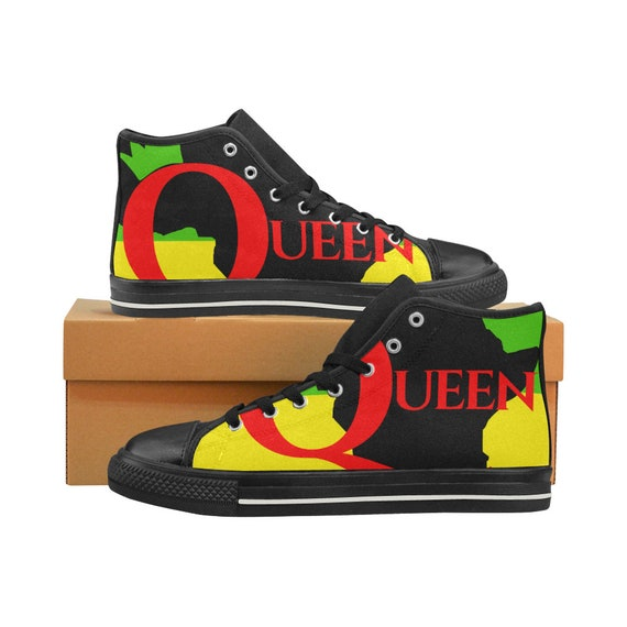 Sneakers Tennis Shoes Ethnic Print
