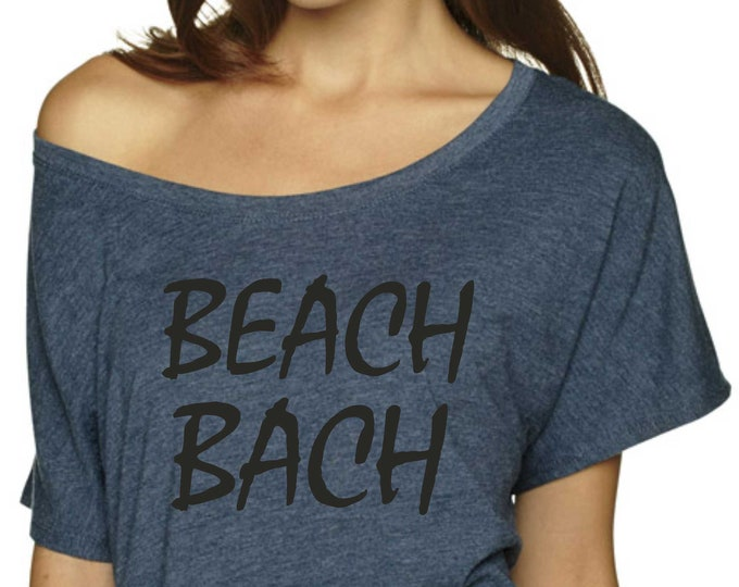 Beach Bachelorette Shirt - Beach Bach - bridesmaid swimsuit coverups - beach shirts - girls trip tshirts - beach weddings - xxxl xxl xl