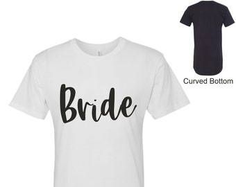 Bride Sleep Shirt ,Bride pjs , Bride sleep shirts, bridesmaid sleep shirts , bridal party tshirts , long shirts, bridesmaid sleep dress