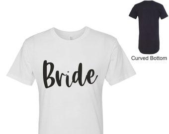 Bride Sleep Shirt ,Bride pjs , Bride sleep shirts, bridesmaid sleep shirts , bridal party tshirts , long shirts, bridesmaid sleep dress