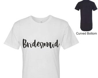 Bridesmaid Sleep Shirt ,Bridal party pjs , sleepover tshirts, wedding shirts , bridal party tshirts , long shirts, bridesmaid sleep dress