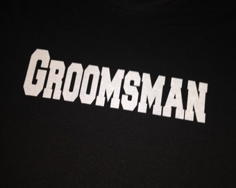 Set of 9 Groomsmen shirts . Mens Bachelor Party T-shirts . Father of the groom, father of the bride, groomsmen, best man gifts .