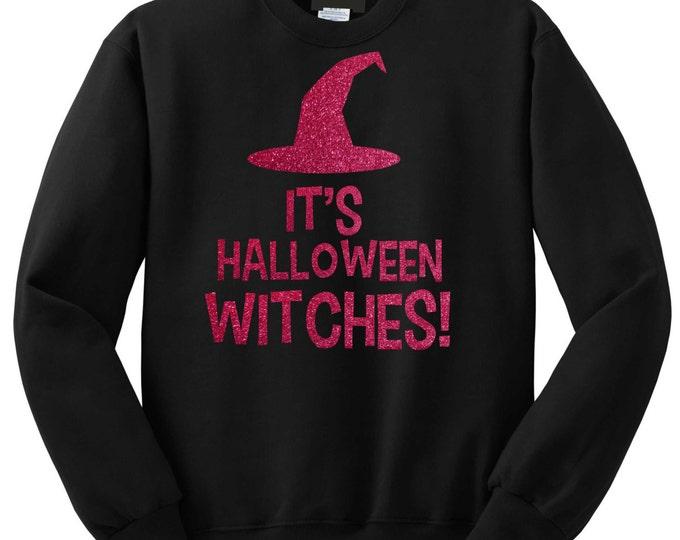 Halloween crewneck. Hot Pink and Black Halloween Costume Shirt. Womens Halloween sweater. Halloween shirts. Unisex halloween shirt