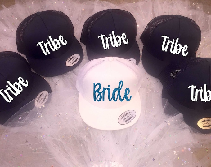 7702310a47d bachelorette hats - bridesmaid hats - tribe bridesmaid nautical Hat - tribe  anchor hat- bridal