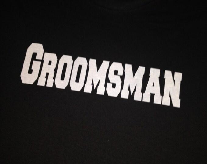 Party Drinking Shirts . Set of 6 Bachelor Party t-shirts. Custom Groomsmen Shirts. Groom Print T-shirt.  Wedding Shirts. Groomsmen Shirt.