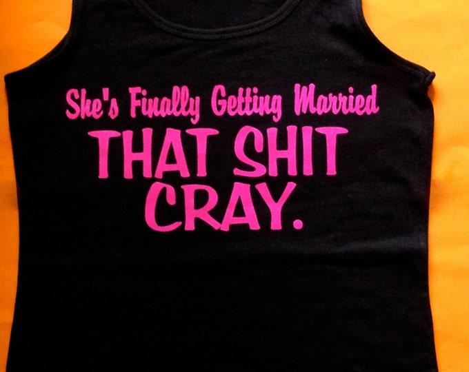 6 Bachelorette Party Tank Tops. Black, White, Hot Pink BAchelorette. Party t-shirts. Custom Fun bachelorette shirts. Funny drinking shirts.