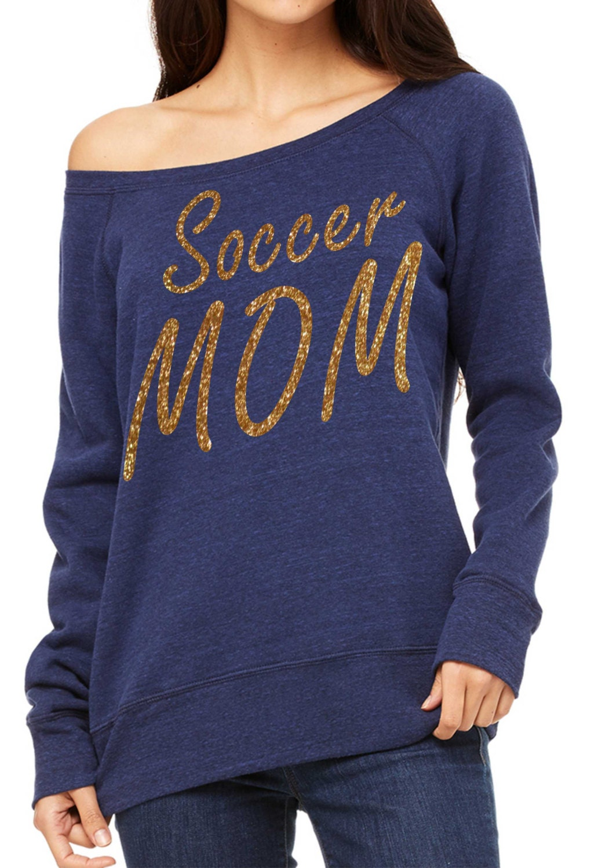 a60632e7a Soccer Mom Sweatshirt. Personalized Soccer Mom shirt- Sports mom ...