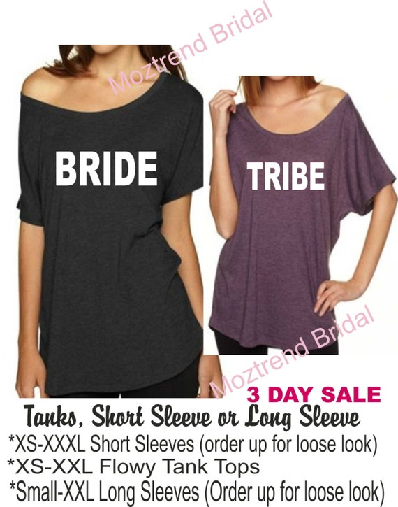off Party Shirts Ladies t the pink black Tribe Bachelorette Purple Flowy 6 shirts shirts shoulder hot Set of Drinking and Shirts Bride qzPtII