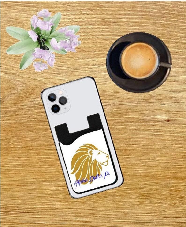 Alpha Delta Pi-ADPI-Alpha Delta Pi cell phone-Alpha Delta Pigift-card caddy-sorority-sorority gift-sorority cell phone-cell phone-big little