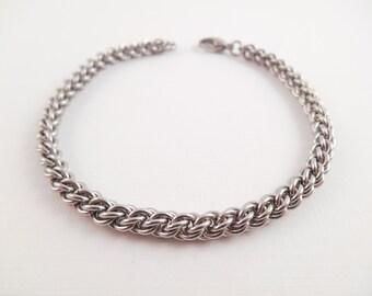 Jens Pind Bracelet - Stainless Steel Jens Pind Chain Maille Bracelet