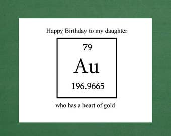 Daughter Birthday Card Daughters Stepdaughter