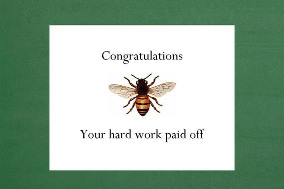 congratulations cards hard work congrats on your promotion etsy