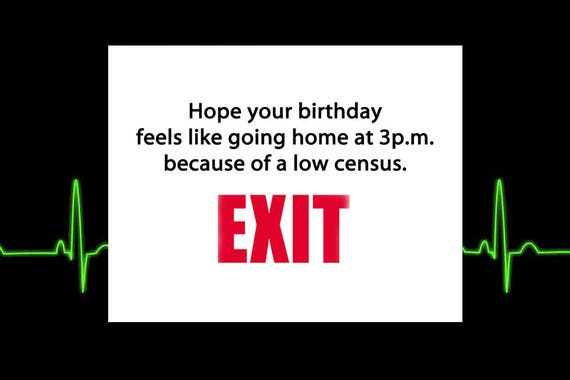 Happy Birthday Funny Cards Humorous Health Care