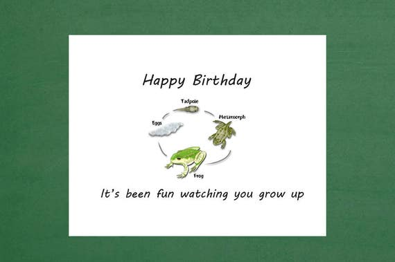 Happy Birthday Son Science Inspired Cards Biology Theme