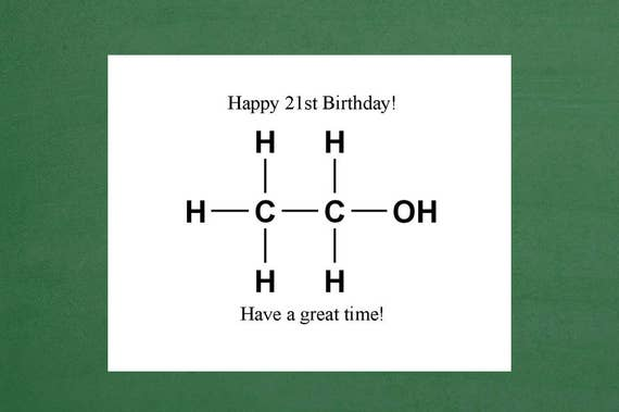 Birthday Cards Happy 21st Greeting Card
