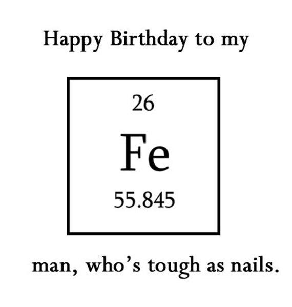 Happy Birthday To My Iron Man Boyfriend Cards Funny