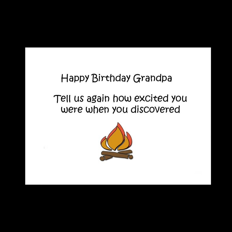 Happy Birthday Grandpa Cards Funny Humor