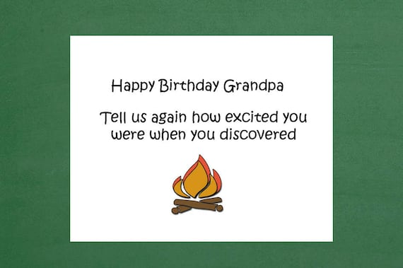 happy birthday grandpa birthday cards funny birthday humor etsy