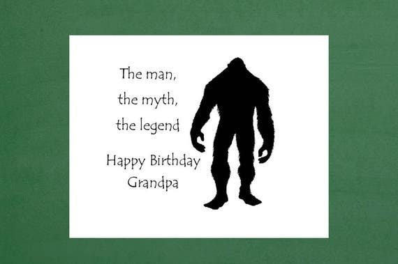 Happy Birthday Grandpa Grandpa Birthday Card Grandfather Etsy