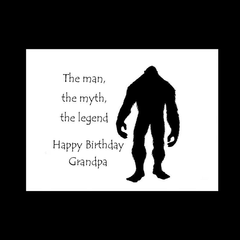 Happy Birthday Grandpa Card Grandfather