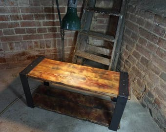 industrial tv stand. Industrial Rustic Television TV Stand Tv