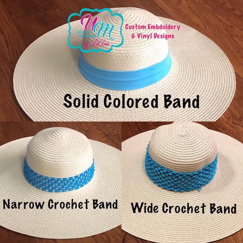 Beach Hat Straw floppy Beach Hat Straw Cruise hat Floppy hat Personalized Straw Hat Do Not Disturb Embroidered floppy Beach Hat Sun hat