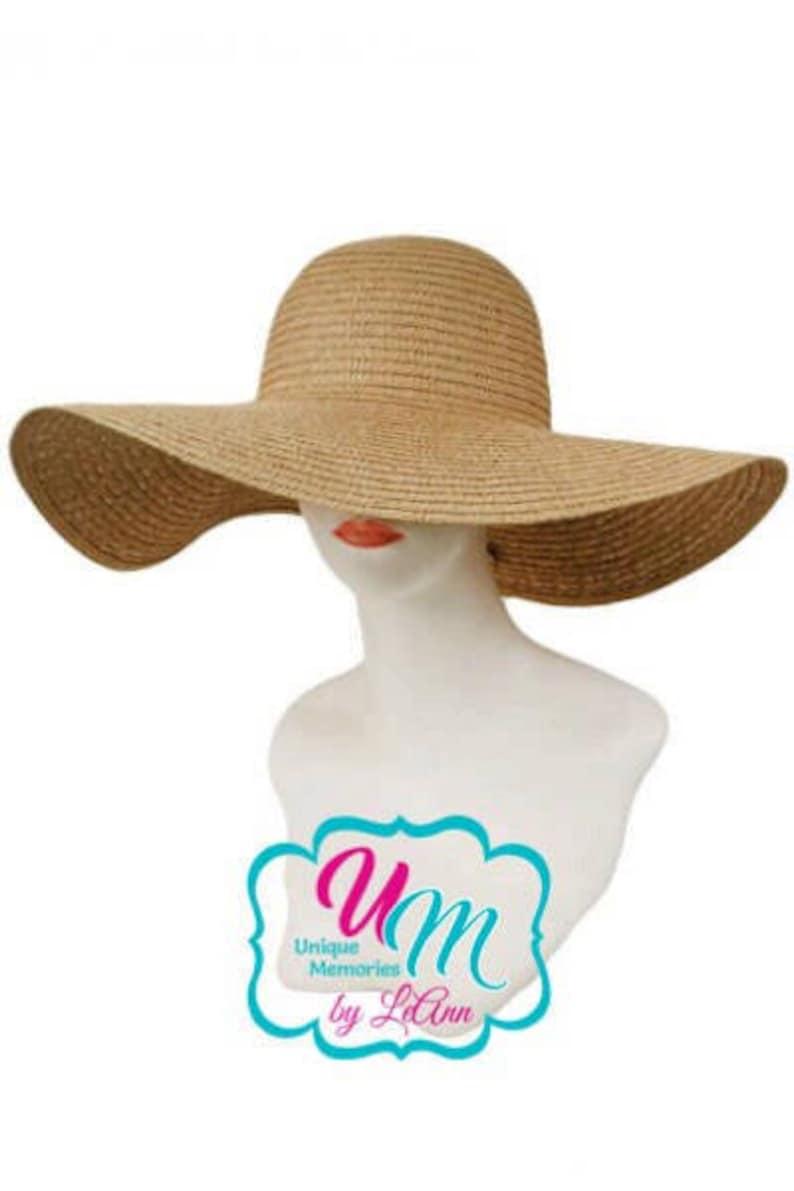 Straw floppy hat Bride Beach hat Beach Hat Embroidered floppy hat Vacation hat Hot Mama floppy Beach Hat Personalized Floppy Hat