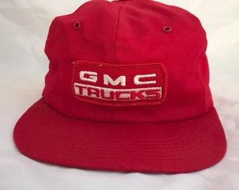 18c5c9bb6b1 Vintage GMC Truck Snap Back Cap