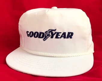 842e693f7b4 Vintage Goodyear Tires Snapback Hat