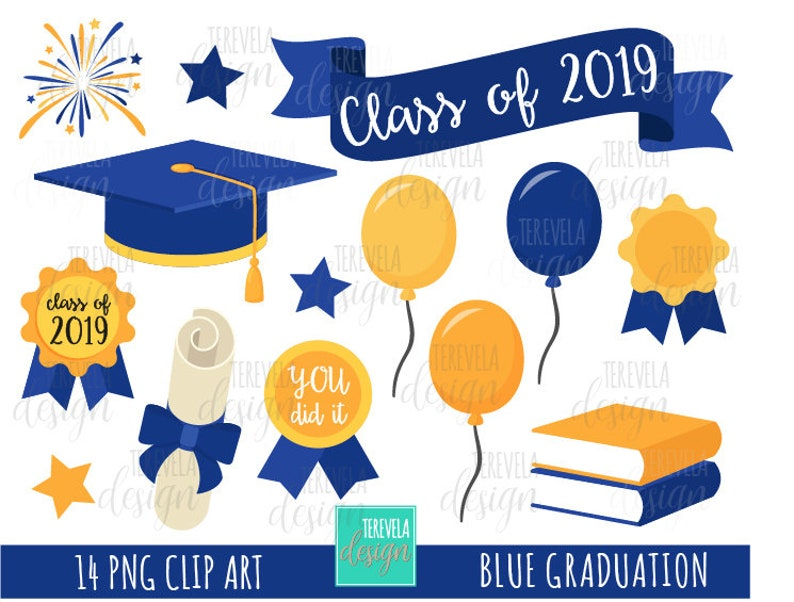 GRADUATION clipart, teachers graphics, commercial use, college clip art,  class of, graduation hat, ballots, cute graphics, books, diploma