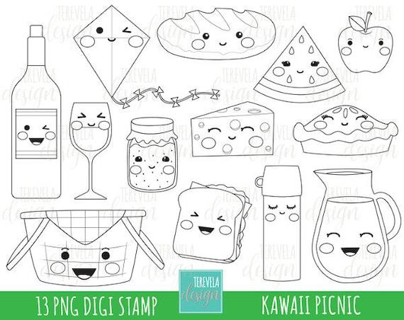 50 Sale Picknick Digitale Briefmarken Picknick Digi Etsy