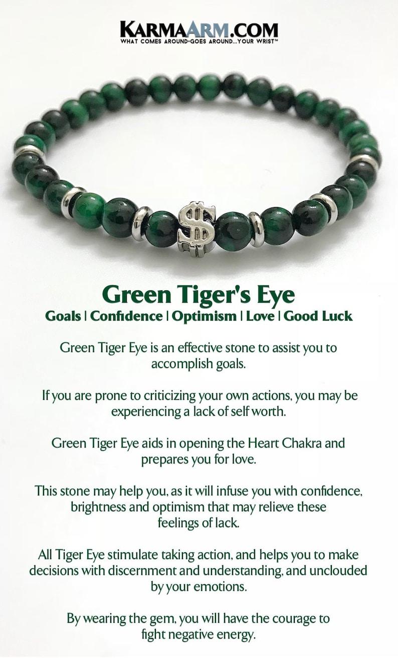 Mens Bracelets, BoHo Bracelets, Reiki Healing Mens Bracelets, Meditation  Jewelry, Money Bracelets, WEALTH, Green Tigers Eye