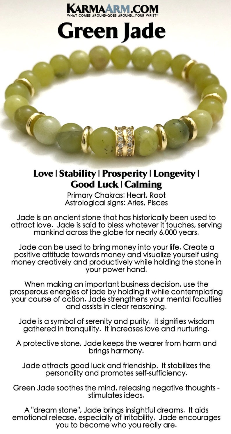 Jade Bracelets, SUCCESS, Beaded Bracelets Mens Bracelets Yoga Bracelets  BoHo Jewelry Reiki Healing Bracelets Meditation Jewelry