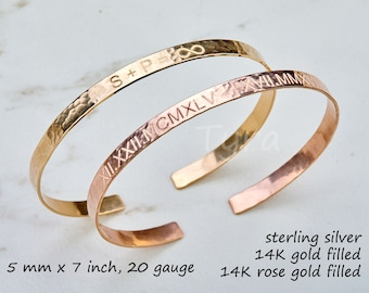 Engraving coordinate cuff,coordinate bangle,Silver or gold or rose gold Half Cuff Bracelet, quote cuff Bracelet,Coordinates Jewelry