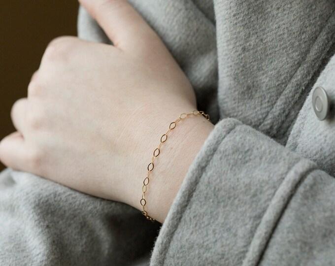 Dainty layering bracelet,silver/gold, Everyday layering bracelet,Dainty Chain Bracelet,meaningful bracelet,Dainty Chain Bracelet,
