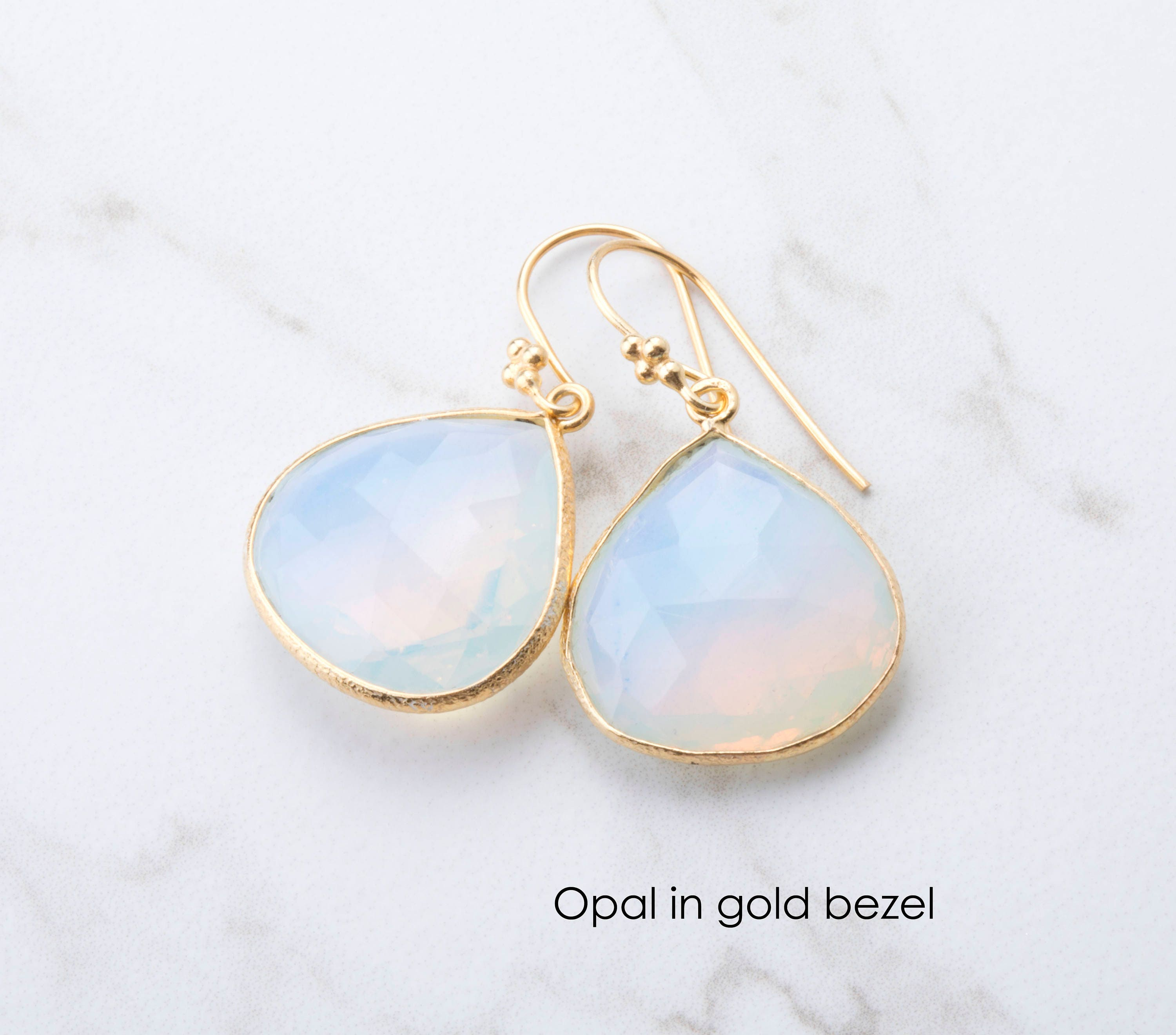 i earrings opal yg index black naples