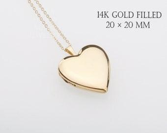 Gold Filled heart photo locket,custom engrave locket,remembrance locket,Memory locket,bereavement locket,anniversary locket,wedding locket