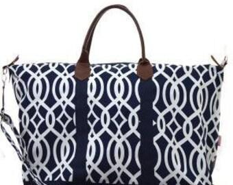 Mongrammed Weekender Bag Personalized Extra Large Weekender  20dc513c336f0