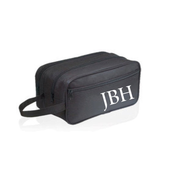 3Toiletry Bag for men Personalized Toiletry Bag Monogram  32714a3afcc83